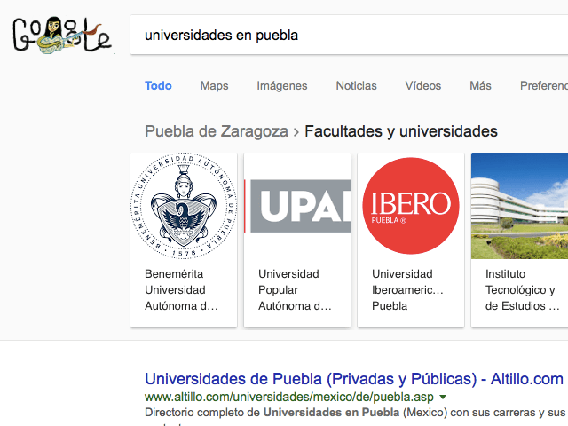 Universidades de Psicología Puebla: Lista Top 50