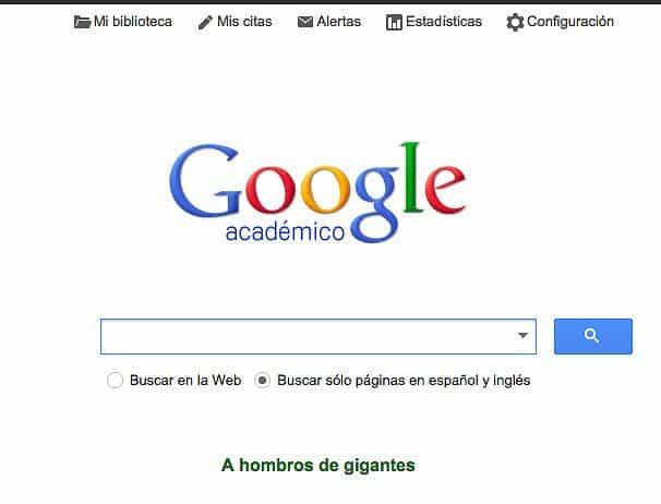 Google Académico, PubMed y Psicología