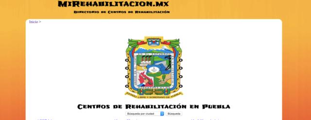 Mi Rehabilitación Mx: Portal de Adicciones