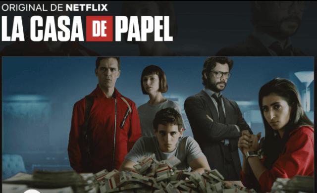 Serie en Netflix: La Casa de Papel