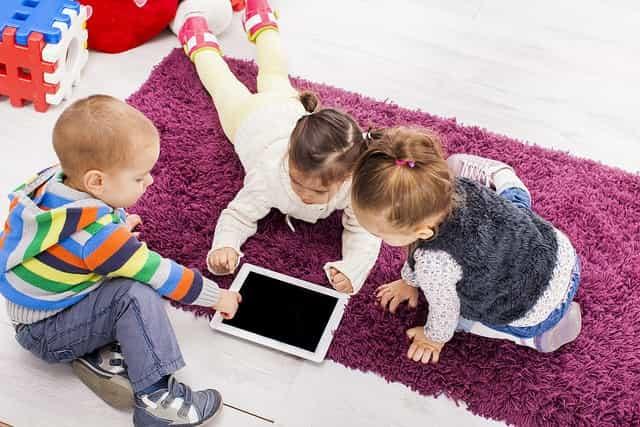 Tablets en la infancia